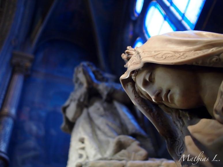 Mausolée de Jean-Baptiste Colbert - La Piété ou l'Abondance - Tuby