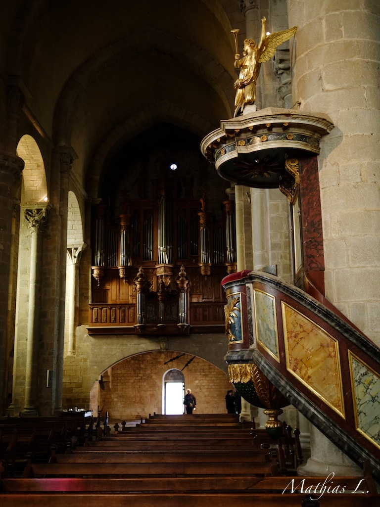 Chaire et Orgue du XVIIe siècle