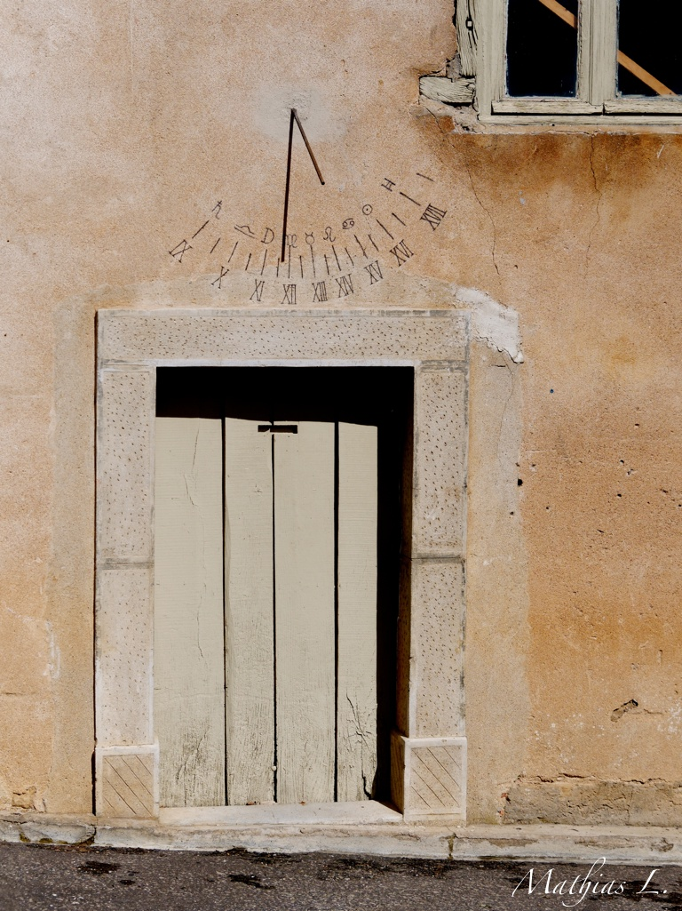 Cadran solaire à Rennes-le-Château