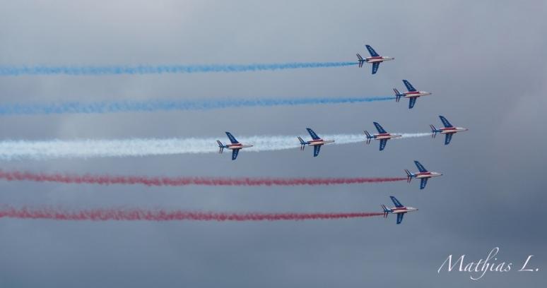 Patrouille de France - Le Bourget 2013