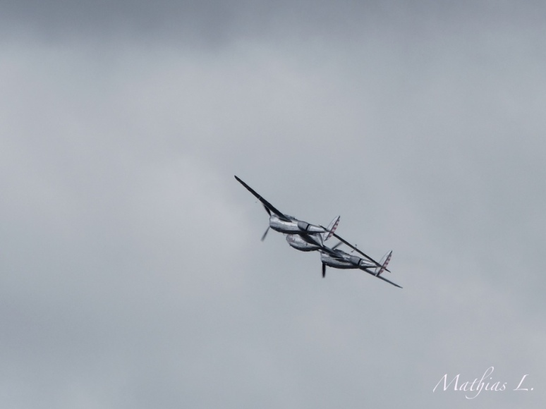 P38 Lightning - Le Bourget 2013