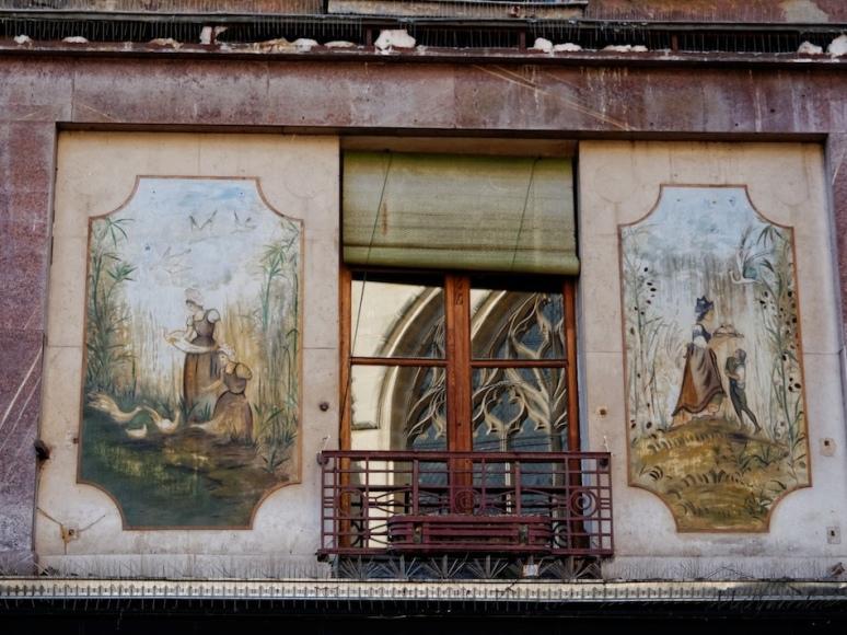 Rue Mouffetard - Immeuble no 134