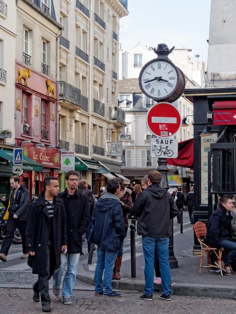 Rue Mouffetard - Place de la Contrescarpe