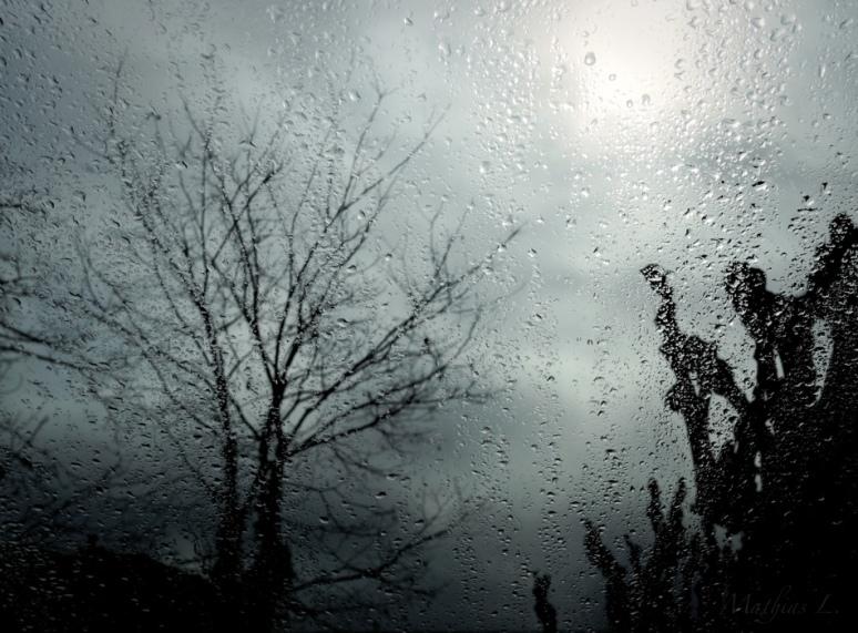 Pluie sur mes yeux