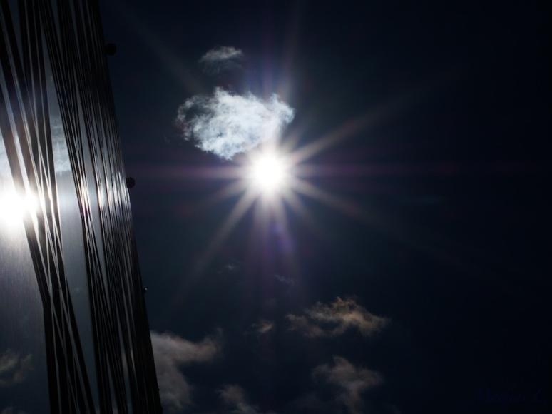 Soleil sur l'IMA