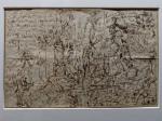 Oeuvre illustrant le parcours de Charcot