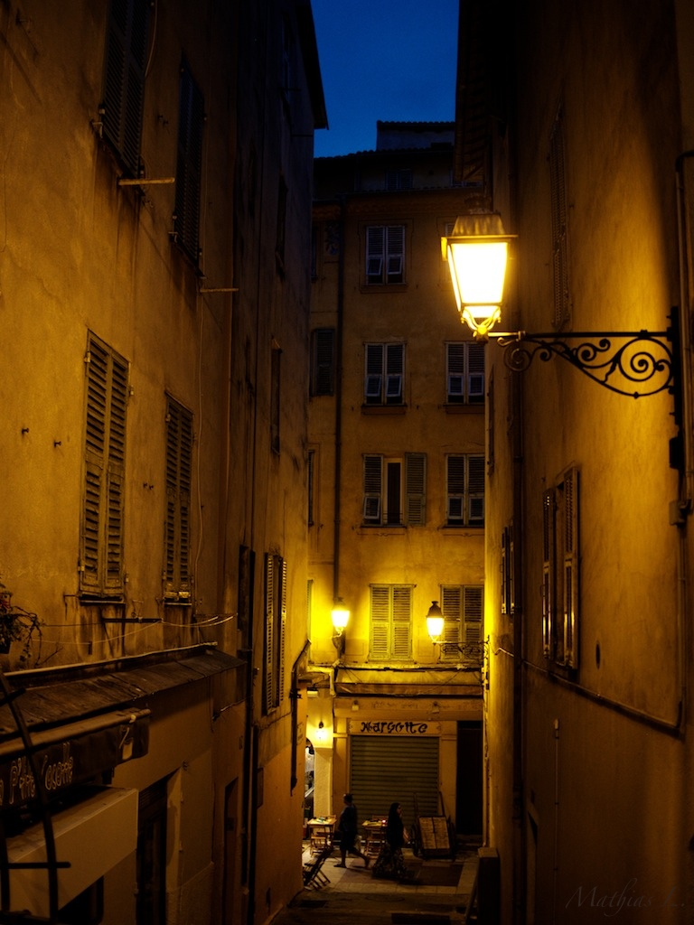 Vieux Nice by night