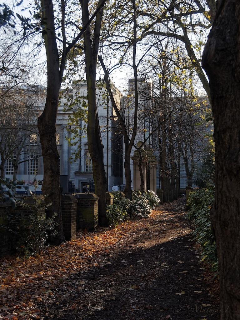 Malet Street Gardens - Londres