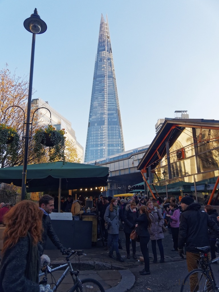 Borough Market - The Shard - Londres