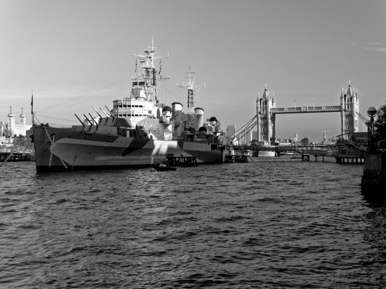 Londres - HMS Belfast / Tower Bridge