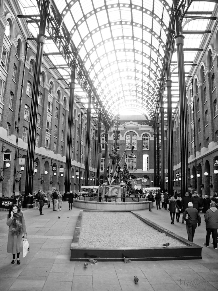 Londres - Balls Brothers Hay's Galleria