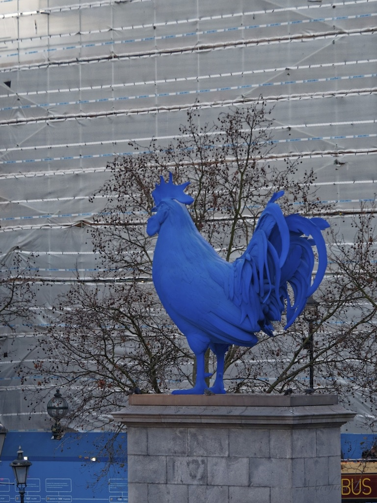 Trafalgar Square - fourth plinth 2014 (Hahn/Cock by Katharina Fritsch)