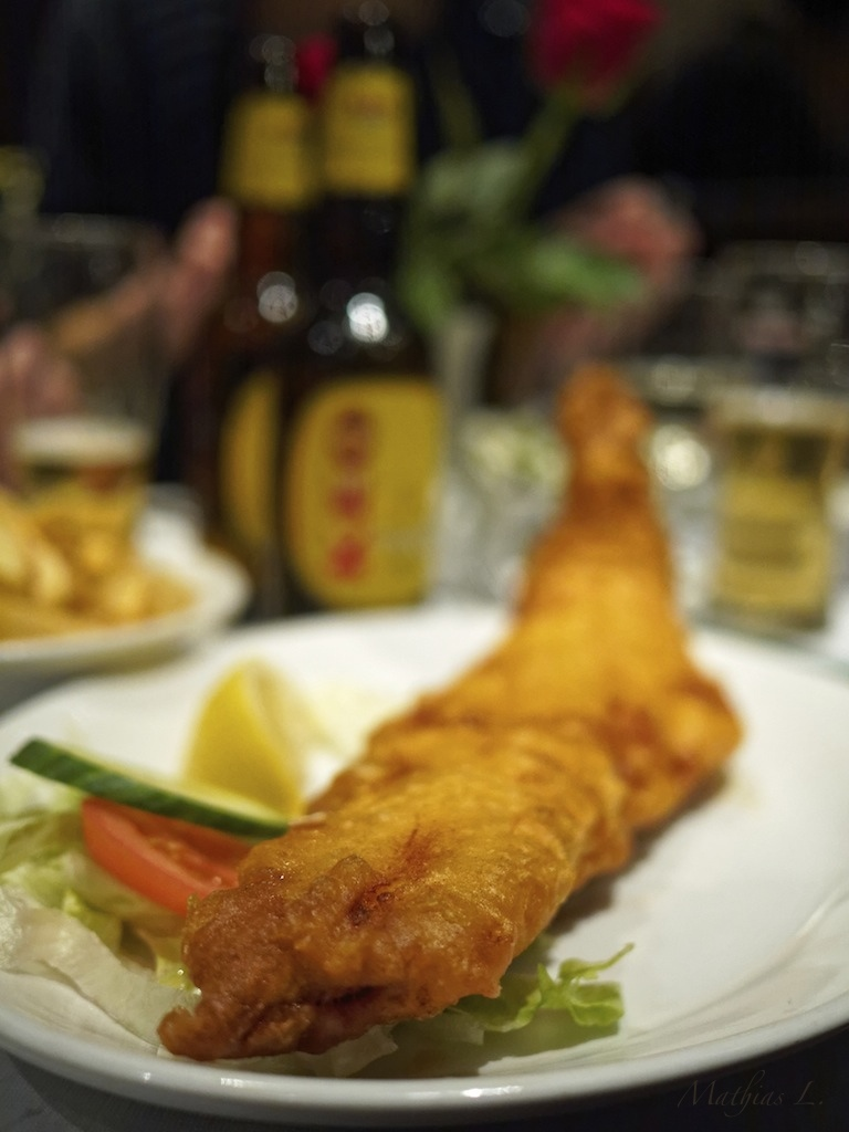 Fish & Chips … miam !!