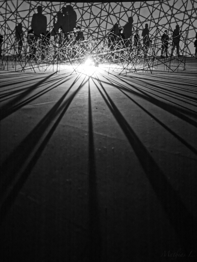 """Contact"" d'Olafur Eliasson"