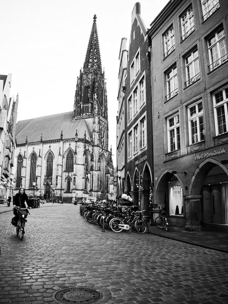 Münster - Roggenmarkt & Lambertikirche
