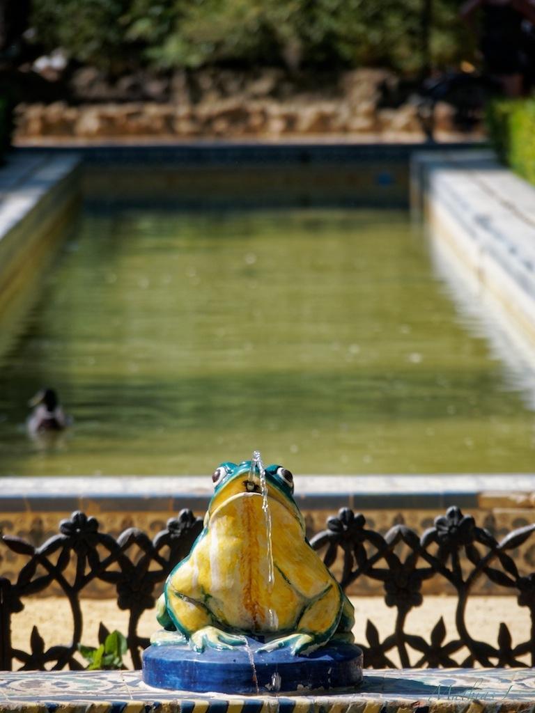 Parque de María Luisa - Jardín de los Leones
