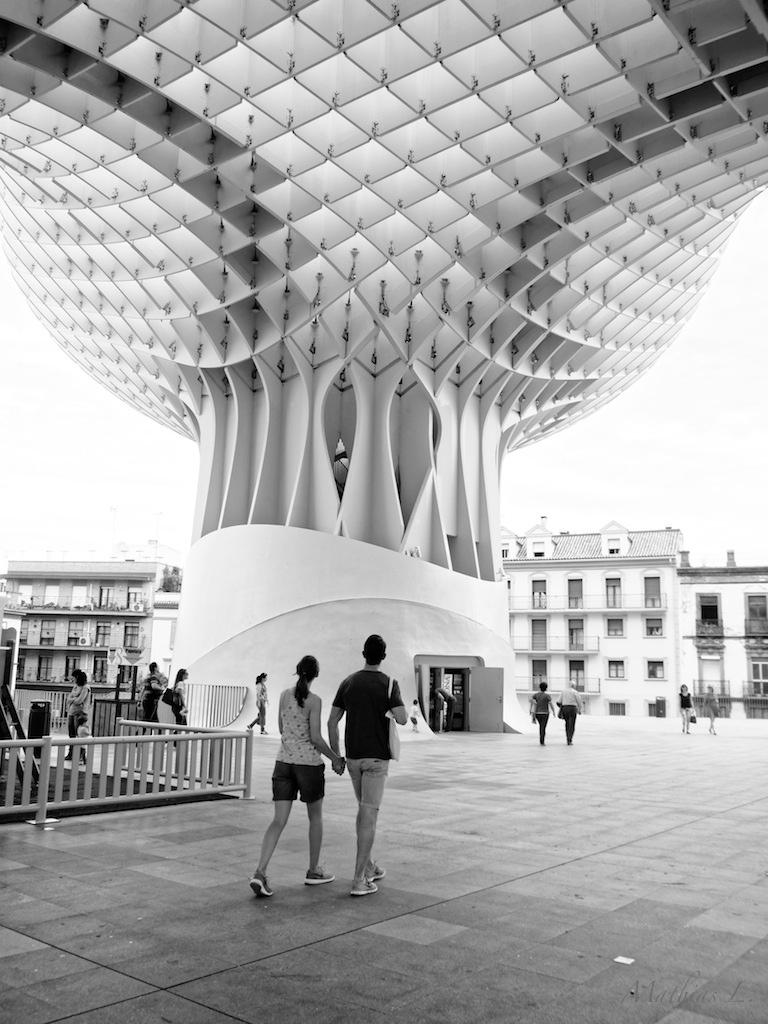 Plaza de la Encarnacion - Metropol Parasol