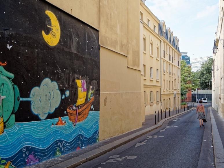 Vers la rue du Pot de Fer