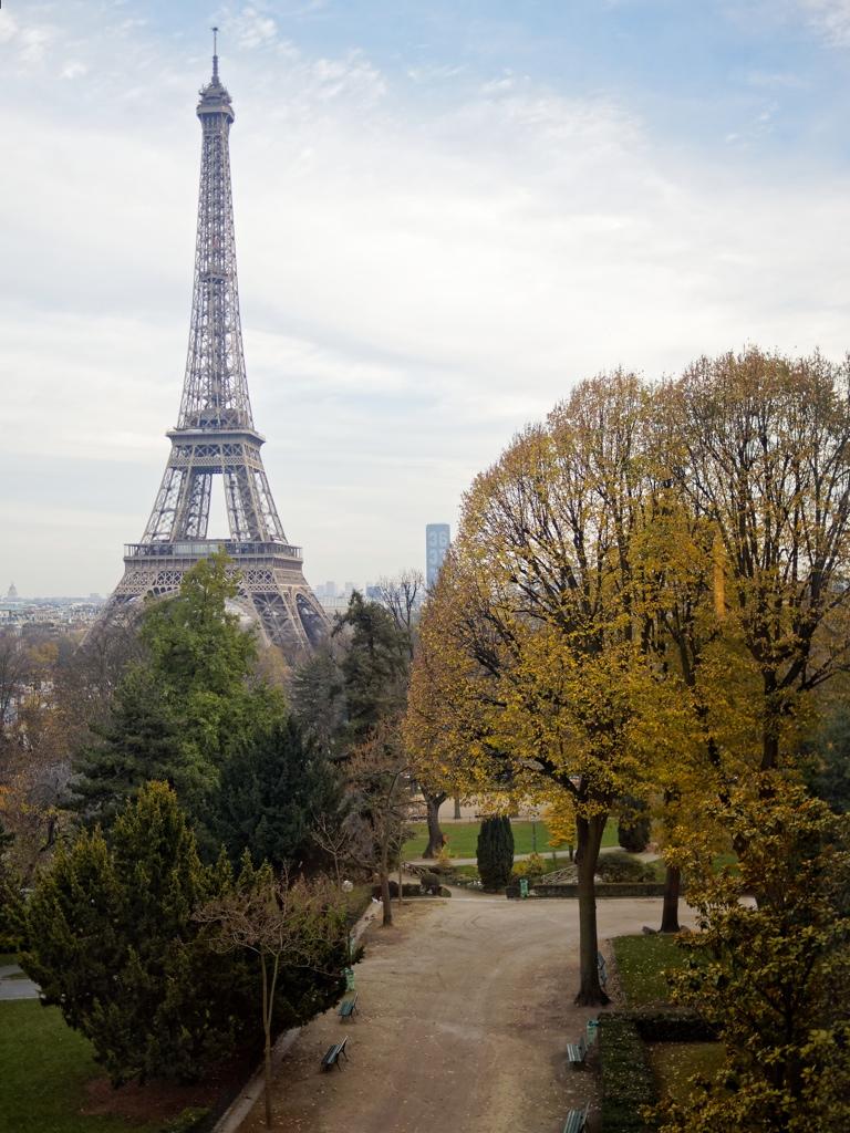 Tour Eiffel automnale