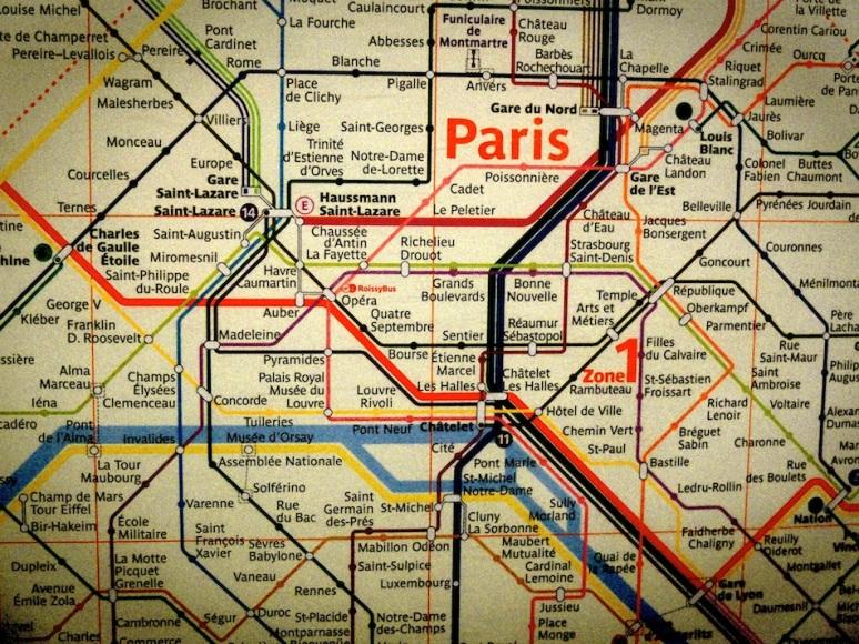 Métro - Paris
