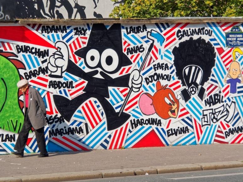 Ecole de la cité Dorée - Jeunes du Comité Parisien/ZDEY