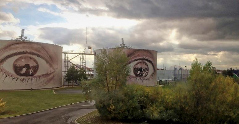 Street-art - SIAAP, Valenton