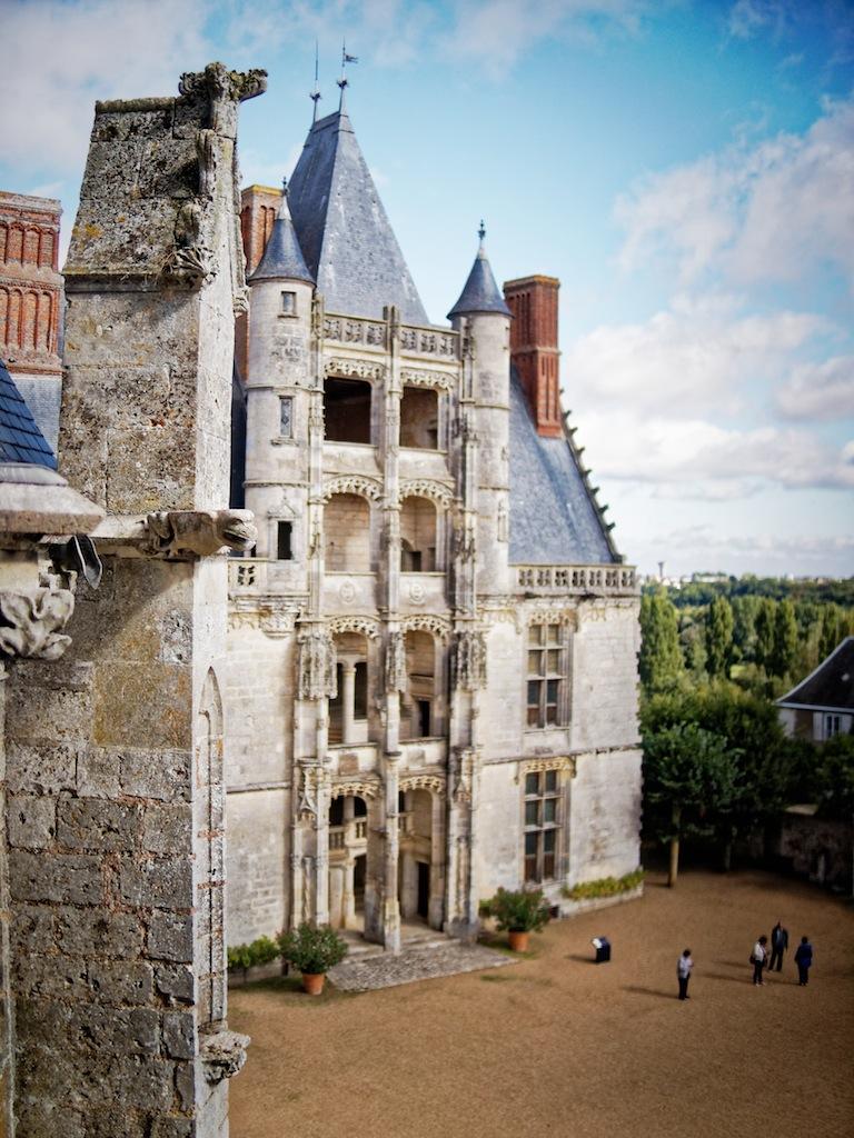 Le château de Châteaudun
